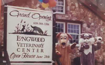 Happy 20th Birthday Longwood Veterinary Center