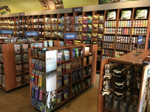 pet foods containing exotic ingredients