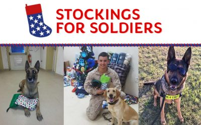 Stockings for K9 Soldiers – November Donations