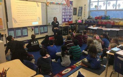 LVC joins up with Bancroft Elementary for their Annual Guest Reader Event